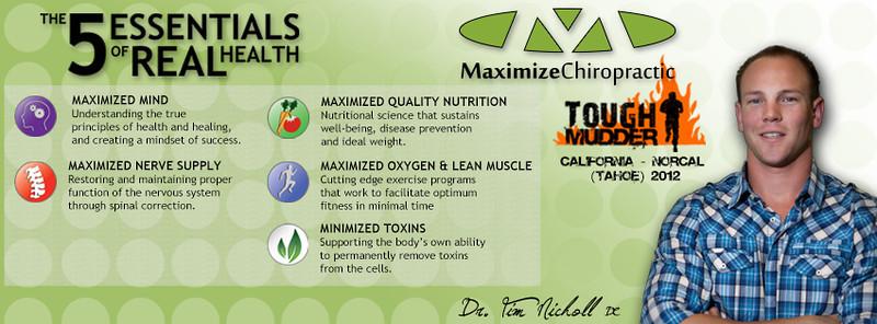 Maximize Chiropractic - Tough Mudder 2012