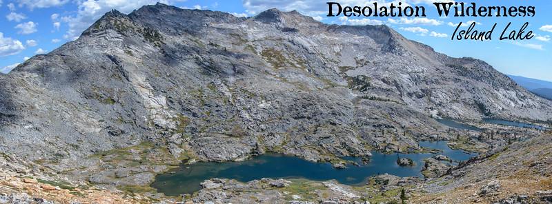 Desolation Wilderness, Island Lake,