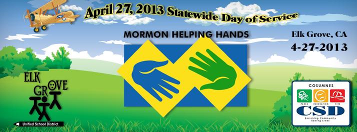 Mormon Helping Hands 2013
