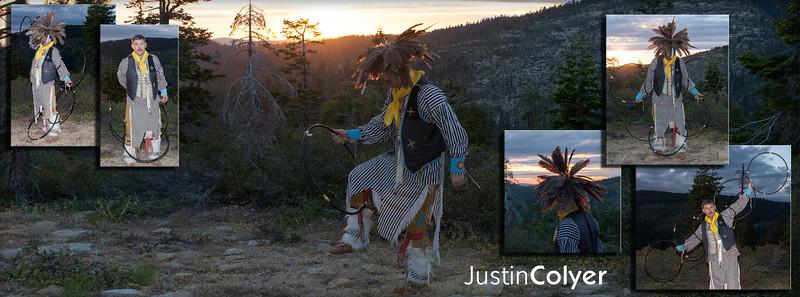 Justin Colyer; Native American Hoop Dancer