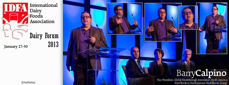 Barry Calpino speaking at IDFA (International Dairy Foods Association), Dairy Forum 2013, Florida