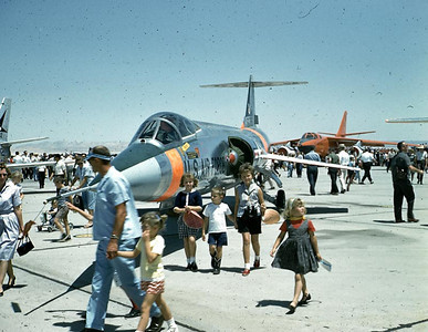 This was an air show at Edwards air force Base