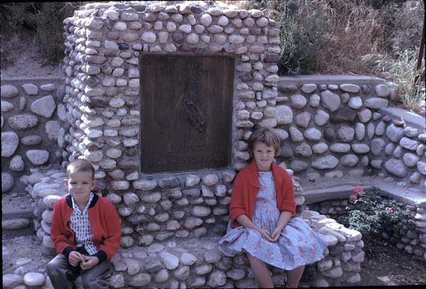 Kathy and Gary at Wm S Hart Ranch