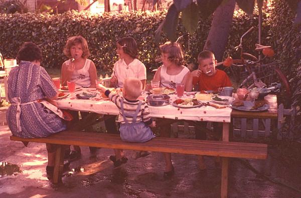 backyard picnic rancho