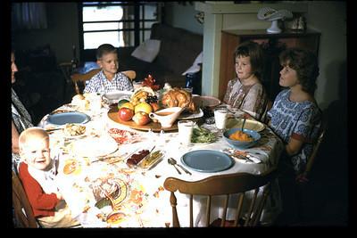 thanksgiving 1962