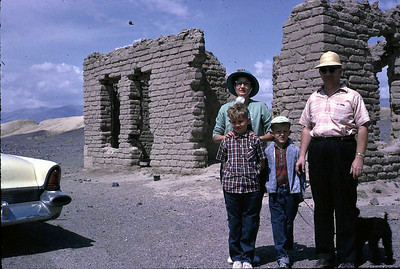The Murrays, left to right: Clarice, John jr, Keith, and John Sr.