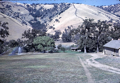 The scenery around Tejon Pass, CA