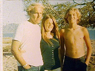 Jay, Kathy and Gary at Guaymas, Mexico, 1970.