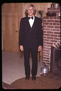 Gary dressed for prom