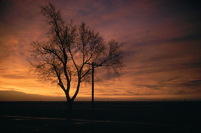 two sunset or sunrise