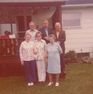 This is the Edberg-Edborg siblings  Elsie Mildred Engaborg, julie Evald and harold.