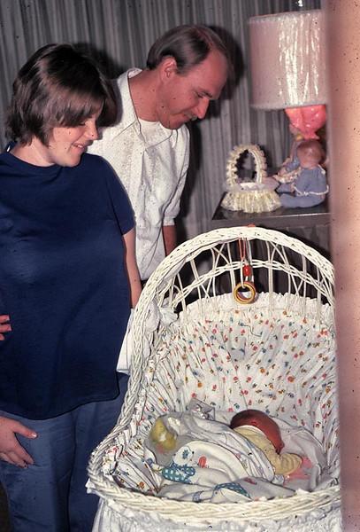 Kathy and Jay admire Erika