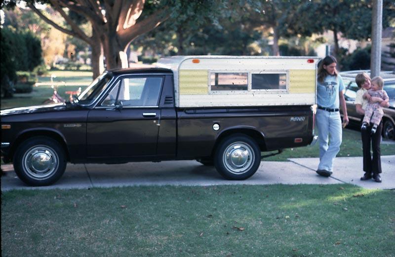 Gary and john with joe. Whos truck?