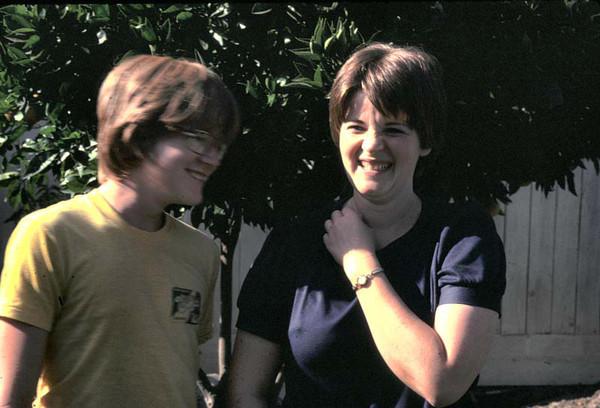 Brother John and Sister Katherine.