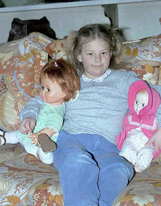 Sweet little kristie loving her dolls. We were there for Thanksgiving.