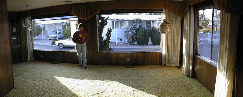 Susan and Kuren's mobile home at Creekside Park
