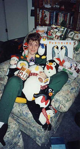 In case you missed the first one here is another one of Erika and her penquins.