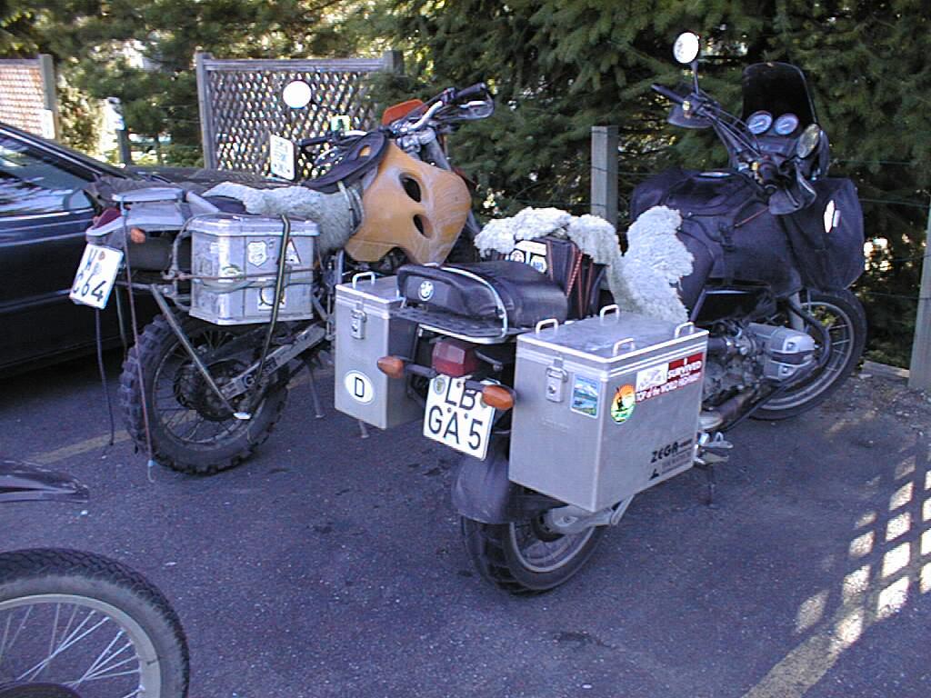 Northwest Tour 2000 - July-August, 2000 - Touring Bikes - British Columbia, Canada