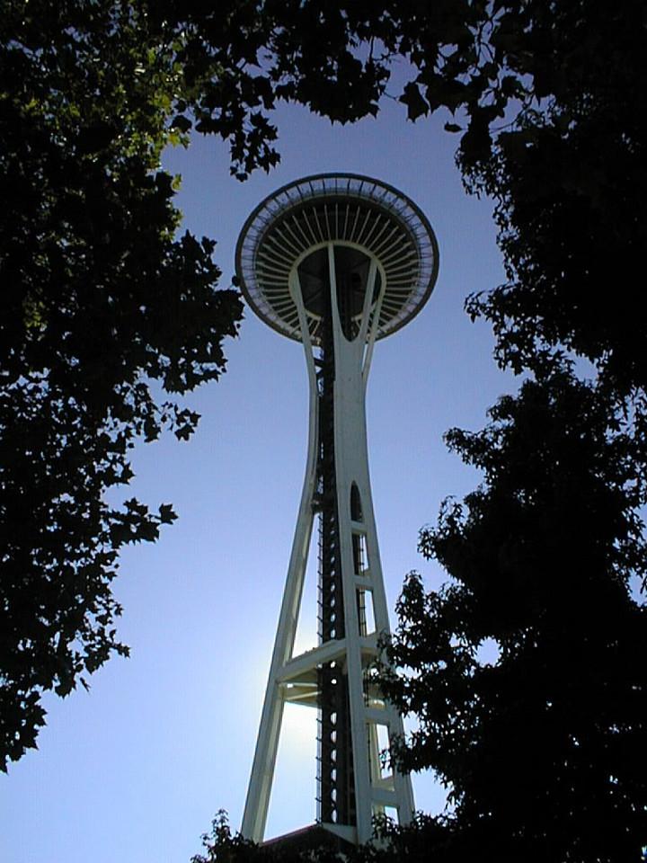 Space Needle - Seattle, Washington - August 2, 2000
