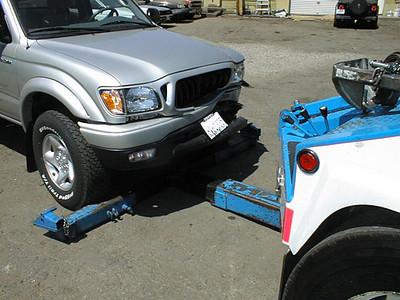 Truck Vs Deer - San Luis Obispo, CA Aug 28, 2002