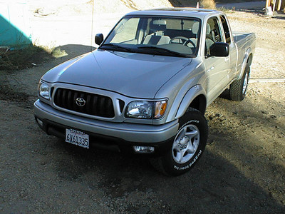 Toyota Tacoma repair after collision with deer - September, 2002