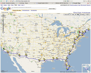 Perimeter Tour map