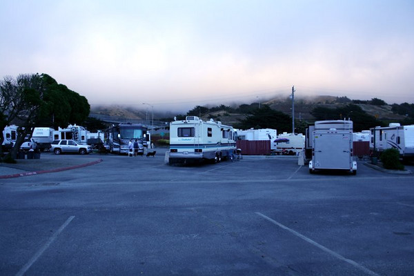 Our spot in Pacifica - 2007 Living Sober Conference, San Francisco, CA