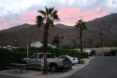 Happy Traveler RV Resort, Palm Springs, California,