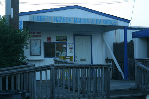 Liberty Harbor RV Park, Jersey City, New Jersey