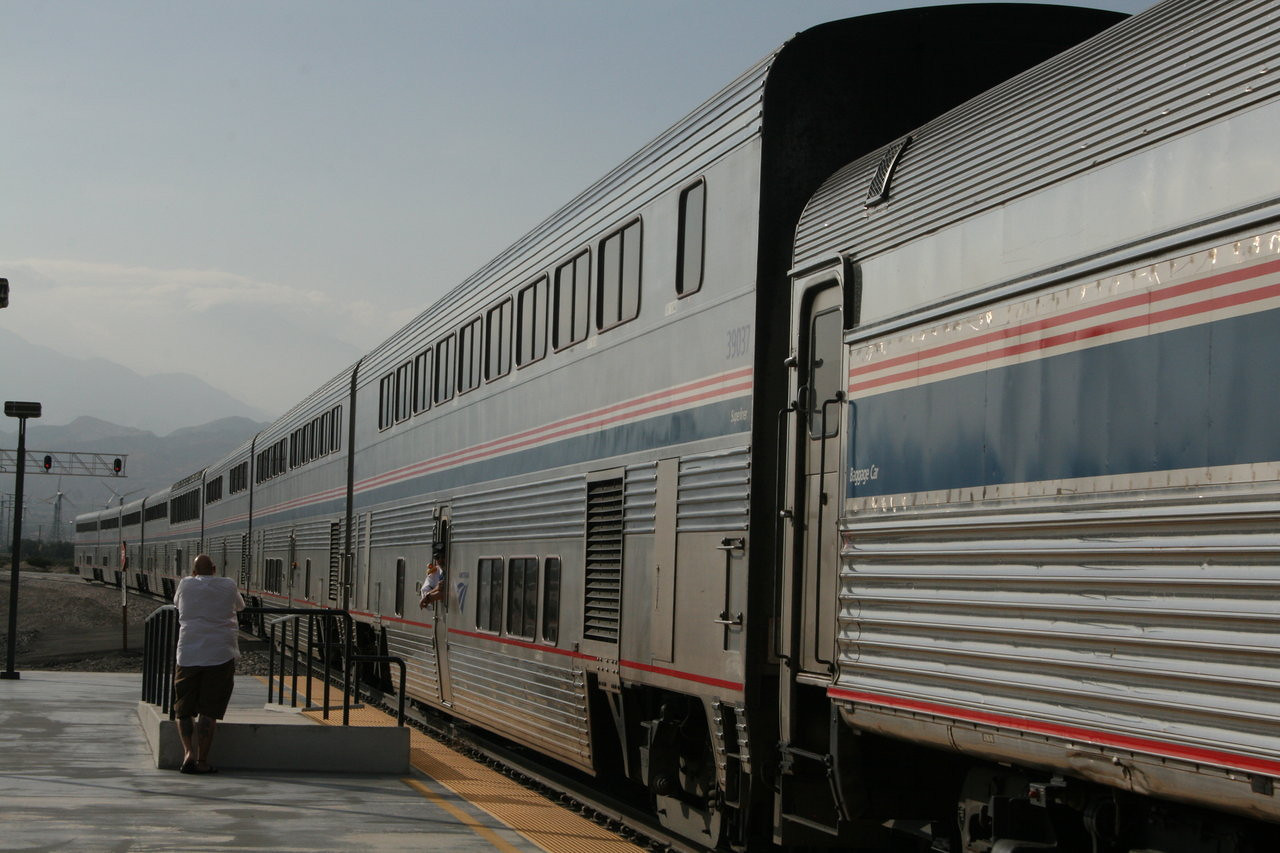 Amtrak Station, Palm Springs, California