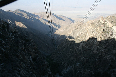 Tram ride to San Jacinto Mountain, Palm Springs, California