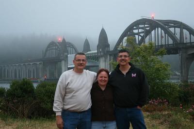 Gary, Leah, Joe, Florence, Oregon