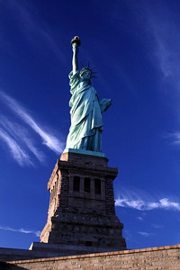 Afternoon at the Statue of Liberty, New York