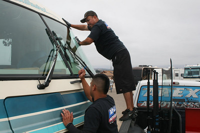 Motorhome Windshield Replacement - July 20, 2010