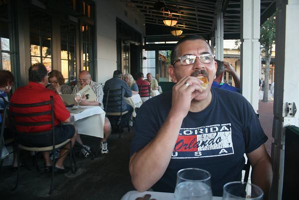 Gary's birthday at Celebration, Florida