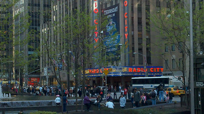 Radio City Music Hall - 6th Avenue / Avenue of the Americas