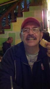 Joe at Brazilian restaurant
