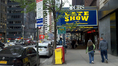 Late Show with David Letterman - Ed Sullivan Theatre, Broadway at 53rd St