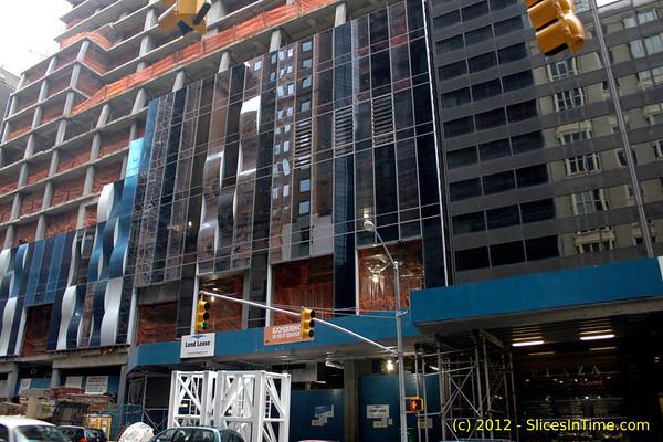 One 57 construction progress, Feb 12, 2012