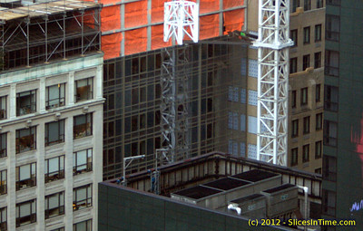 Progress of Hyatt Times Square - 15-Feb-2012