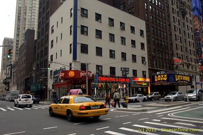 Pie Face restaurant, Broadway & 53rd St.
