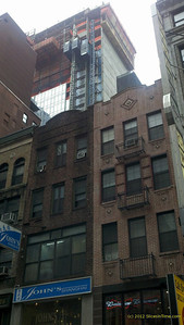 A view of the back from 46th Street