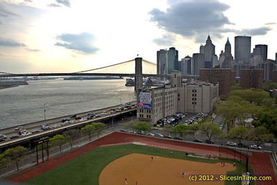 A walk over the Manhattan Bridge - April 16, 2012