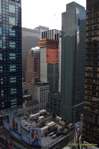 Progress of the Hyatt Times Square - April 27, 2012