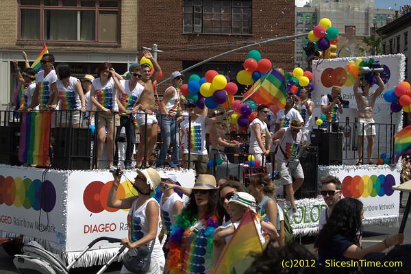 LGBT Pride March 2012 - New York City