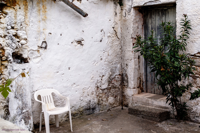 Entrance forecourt - Galatas