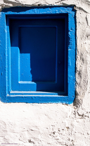 Window detail, Loutro