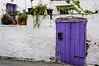 Violet door  - Stalos