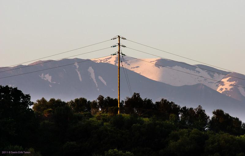 Lefka Ori - the White Moutains in sunrise