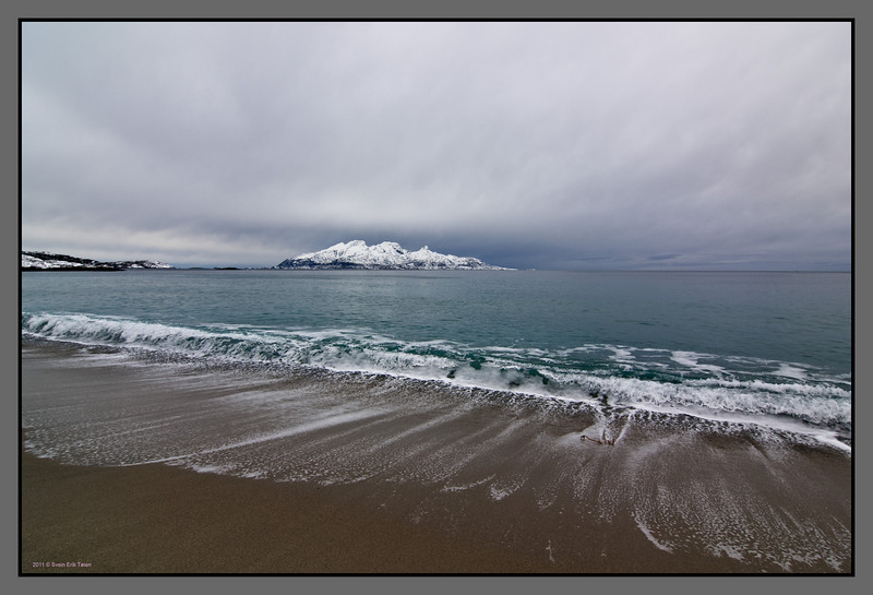 Beach of Mjelle<br /> Nordland